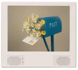 画像1: 店舗用電子POP8インチモニター(CF/SDカード対応・USB→CFカードコピー機能)