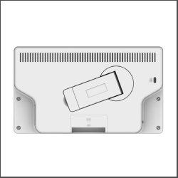 画像3: 7インチ店頭販促用電子POPモニター(商品棚設置金具標準装備)