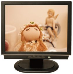画像1: 店舗用電子POP15インチモニター(CFカード対応・USB→CFカードコピー機能)