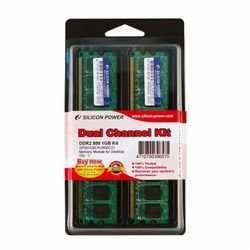 画像1: DDR2 240 Pin Long-DIMM DDR2 800 PC2 6400 Dual Channel Kit